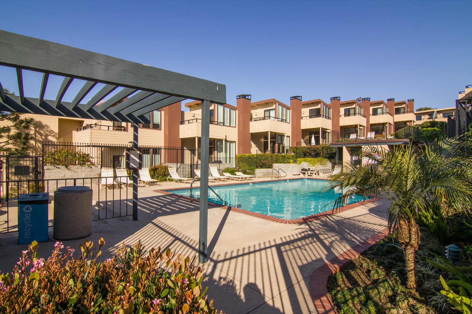 One-of-the-pools-at-Village-Palos-Verdes