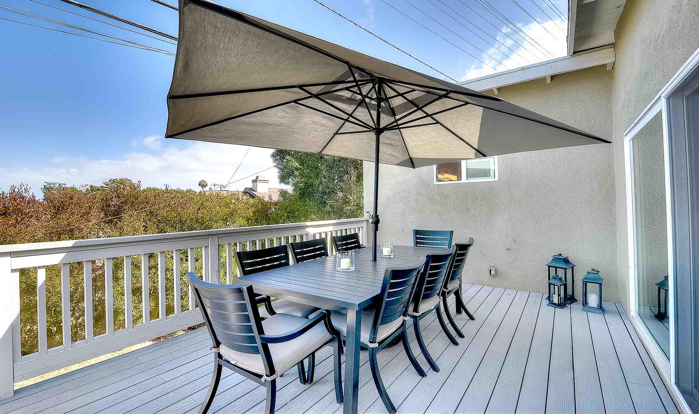 105 Via Los Altos - outdoor deck1