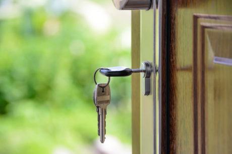 Keys On Door