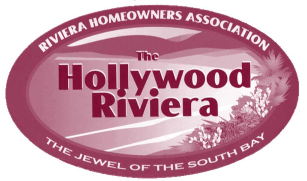 riviera home owners association, hollywood riviera, jewel of the south bay, south bay, los angeles